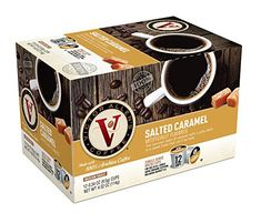 Victor Allen Coffee Salted Caramel Single Serve Kcup 12 Count Pack of 6 Compatible with 20 Keurig Brewers * You can find out more details at the link of the image. (This is an affiliate link) #CapsulesPods