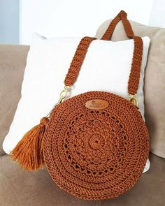 Best 12 Boho Crochet Bags – how to make your own OOAK bag – MotherBunch Crochet – SkillOfKingShell Rattan Bag from March Crochet Bag Pattern Ideas - Page 42 of Do not throw old jeans 🙂Crochet Lacey Charma Neck Warmer - Crotchet Bags, Crochet Tote, Crochet Handbags, Crochet Purses, Knitted Bags, Free Crochet, Purse Patterns Free, Crochet Patterns, Crochet Shoulder Bags