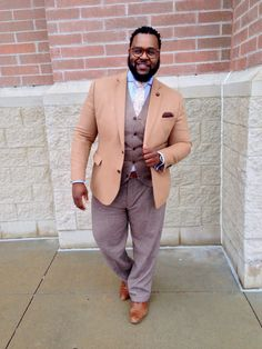   @TheBigFashionGuy    Big and Tall Style Inspirations  Layers, Textures and Prints