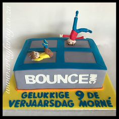 Bounce Cake #bouncecake 4th Birthday, Birthday Cake, Cupcake Cakes, Cupcakes, Sport Cakes, Toy Chest, Things That Bounce, Children, Kids