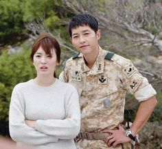 Descendants of the Sun Current favorite ❤️ Kbs Drama, Drama Fever, Songsong Couple, Best Couple, Song Joong Ki Birthday, Soon Joong Ki, Decendants Of The Sun, Sun Song, My Love From Another Star