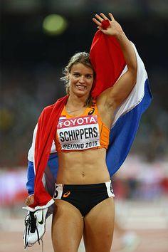 Sport Motivation, Dafne Schippers, Track Senior Pictures, Female Surfers, World Athletics, Beautiful Athletes, Olympic Athletes, Gymnastics Girls, Sporty Girls