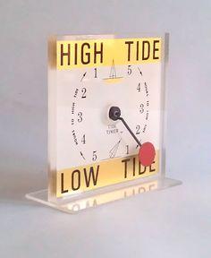 Vintage HIGH Tide LOW Tide Timer Clock