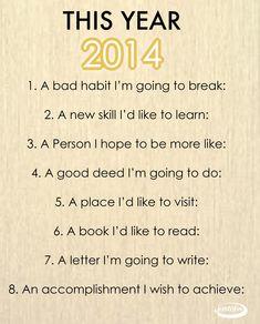 School year resolution guide