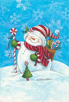 Snowman, Snowman Painting, Snowman Art, Christmas Decor, Christmas Art, New Year Decor, New Year Art