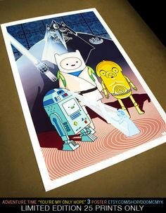 Adventure Time You're My Only Hope DoomCMYK