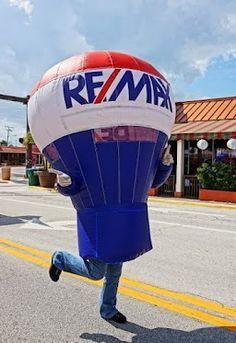 RE/MAX Balloons Mascot.