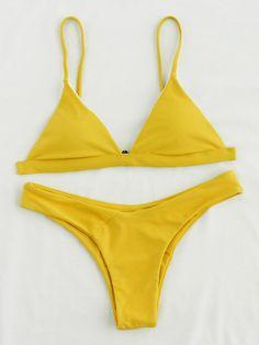 Shop Triangle High Leg Bikini Set online. SheIn offers Triangle High Leg Bikini Set & more to fit your fashionable needs.