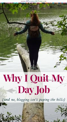 Self Discovery, Seeking Happiness, and My Plan now that I've quit my job (and no, blogging isn't paying the bills) http://www.adesignerathome.com/why-i-quit-my-day-job/