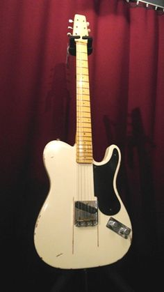 Fender Esquire Telecaster 'Snake Head' Prototype Relic Reissue 2013 White Aged Guitar For Sale JobFactory Musicstore