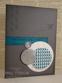 Sent with Love Faux Metal by jmariepete - Cards and Paper Crafts at Splitcoaststampers