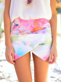 Narnia Skort at Mura Boutique 2013 style amazing ! Want this!