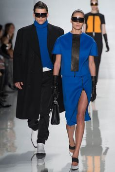 Michael Kors Collection Fall 2013 Ready-to-Wear Fashion Show - Simon Nessman and Karmen Pedaru