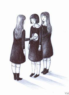 drawing for Komikazen festival :) http://www.komikazenfestival.org