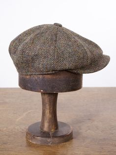 The Salvager Cap – Drew Pritchard Ltd Botas Red Wing, Outer Hebrides, Stylish Mens Outfits, Newsboy Cap, Harris Tweed, Herringbone Pattern, Red Silk, Hats For Men, Mens Fashion
