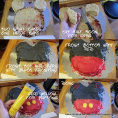Mickey Mouse Party ... Mickey Mouse Cake
