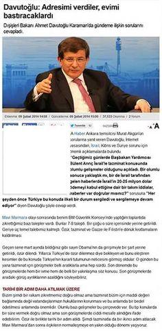 Mr. Davutoglu: There Is Press Ethics