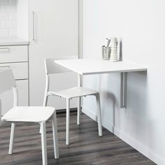 The Best IKEA Products for Small SpacesNorberg Wall-Mount Drop-Leaf Table, $39.99