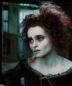 Helena Bonham Carter as Mrs. Lovett in Sweeney Todd.