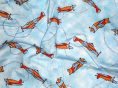 Custom Made Cloth DiaperAirplanes by Los Chiquitos by loschiquitos, $9.25