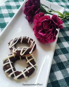 Çikolatalı Kurabiye / Donut Cookies Donut