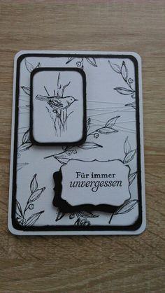 Trauerkarte - Natur-nah