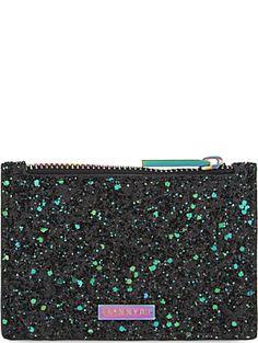 SKINNY DIP Glitter coin purse