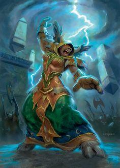 Tauren Druid -- http://wanelo.com/p/3589015/zygor-guides - World of WarCraft