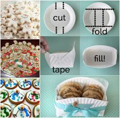 Diy Paper Plate Cookie Basket Video Tutorial | The WHOot