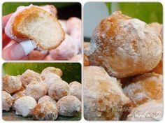 Picture of Recept - Tvarohové koblížky Pretzel Bites, Red Velvet, Hamburger, Rum, Bread, Cheese, Baking, Cake, Food