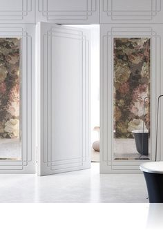 L'invisibile — двери межкомнатные в стиле хай-тек