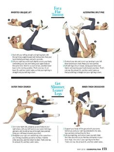 Tummy and Legs Exercises