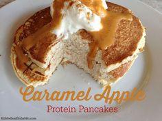 Caramel Apple Protein Pancakes (via Bloglovin.com )