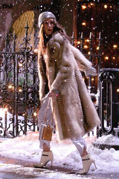 best coats in movies sex and the city 2008 fur