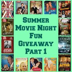 Summer Movie Night Fun Giveaway 8/10 ~ Tales From A Southern Mom