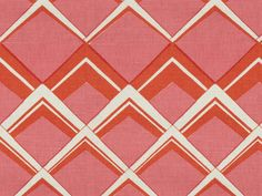 Brunschwig & Fils PALLADIUM LINEN AND ORANGE PINK BR-79774.641