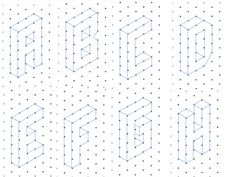 isometric alphabet drawings - Google Search