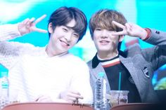 160227 UP10TION Yeouido Fansigning Xiao and HwanheeCr:   HEALING PROCESS  Do not edit