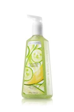 Amazon.com: Bath and Body Works Cucamber Melon Anti-bacterial Deep Cleansing Hand Soap 8 Fl Oz: Health & Personal Care
