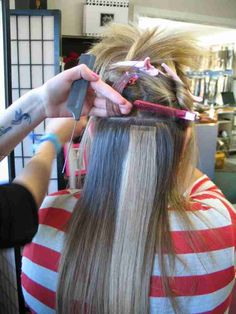 Remy Human Hair Tape in Extensions