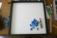 LEGO Minifigure Display - IKEA Frame