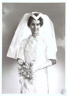 Mrs. Van Dermark, wedding photo Date: December 21, 1966.  Source:KY Post