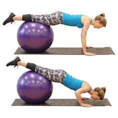 Exercices Swiss Ball, Going To The Gym, Gym Workouts, Gym Equipment, Health Fitness, Challenges, Exercise, Sports, Zen