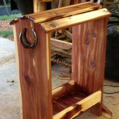 Homemade Saddle Rack                                                                                                                                                                                 More
