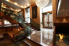 Belgraves Hotel   Belgravia   London   Thompson Hotels   Lobby   Photography by Patrick Steel   Interior design by Tara Bernerd