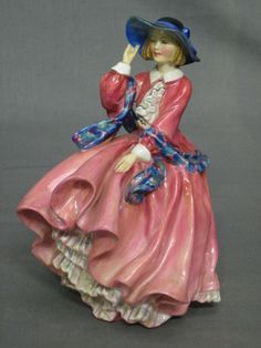 A Royal Doulton figure - Top O The Hill RD 822821 (crack to base) £40-60