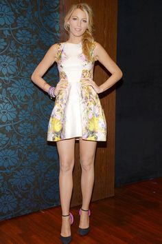 Blake Lively, pretty spring look