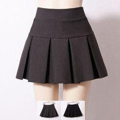 Cute pleated skirt mini skirt from Cute Kawaii {harajuku fashion} Skirt Mini, Pleated Skirt, Dress Skirt, Mini Skirts, Mini Skirt Style, Cute Fashion, Girl Fashion, Womens Fashion, Fashion Design