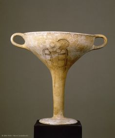 impossibly graceful Mycenaean cup