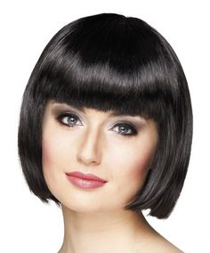 Short Straight Bob Wig Density Straight Natural Color Human Hair Full Lace Wigs with Baby Hair Bleached Knots For Black Women Cabaret, Bob Black, Gatsby Fancy Dress, Short Straight Bob, Afro, Beautiful Black Hair, 20s Flapper, Catherine Zeta Jones, Wigs With Bangs